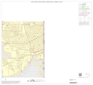 Primary view of object titled '1990 Census County Block Map (Recreated): Bowie County, Inset G04'.
