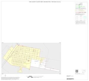 Primary view of object titled '1990 Census County Block Map (Recreated): Refugio County, Inset D01'.