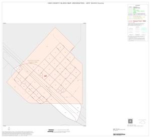 Primary view of object titled '1990 Census County Block Map (Recreated): Jeff Davis County, Inset B01'.