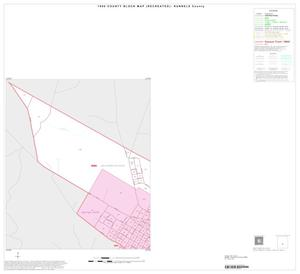 Primary view of object titled '1990 Census County Block Map (Recreated): Runnels County, Inset C01'.