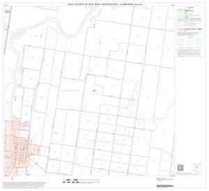 Primary view of object titled '1990 Census County Block Map (Recreated): Cameron County, Block 19'.
