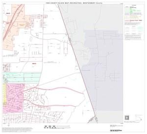 Primary view of object titled '1990 Census County Block Map (Recreated): Montgomery County, Block 38'.