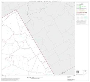 1990 Census County Block Map (Recreated): Coryell County, Block 3