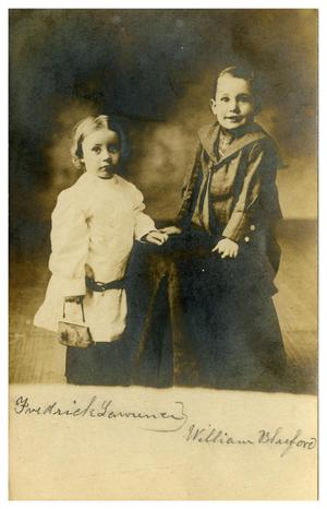 Primary view of object titled '[Two Little Boys]'.
