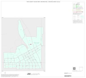 Primary view of object titled '1990 Census County Block Map (Recreated): Shackelford County, Inset B01'.
