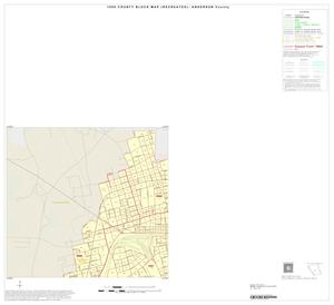 Primary view of object titled '1990 Census County Block Map (Recreated): Anderson County, Inset C01'.