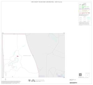 Primary view of object titled '1990 Census County Block Map (Recreated): Jack County, Inset A01'.