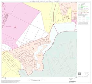 Primary view of object titled '1990 Census County Block Map (Recreated): Harris County, Block 204'.