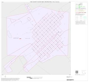 Primary view of object titled '1990 Census County Block Map (Recreated): Hill County, Inset N01'.