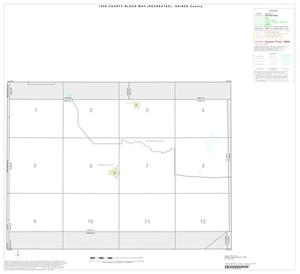 Primary view of object titled '1990 Census County Block Map (Recreated): Gaines County, Index'.