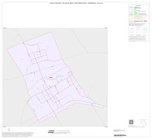 Primary view of object titled '1990 Census County Block Map (Recreated): Bosque County, Inset D01'.