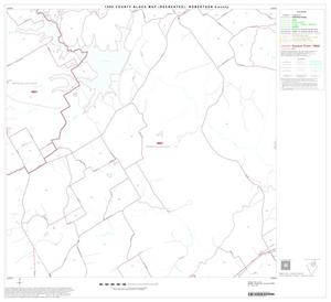 Primary view of object titled '1990 Census County Block Map (Recreated): Robertson County, Block 6'.