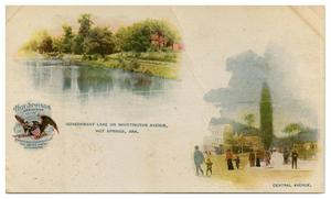 Primary view of object titled 'Hot Springs, Ark.'.
