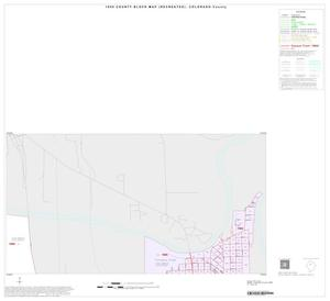 Primary view of object titled '1990 Census County Block Map (Recreated): Colorado County, Inset B03'.