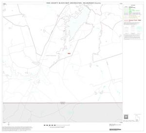 Primary view of object titled '1990 Census County Block Map (Recreated): Wilbarger County, Block 16'.