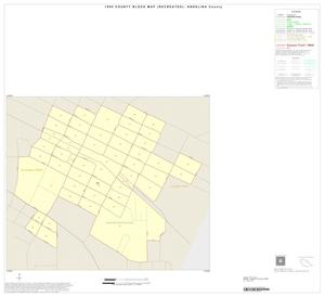Primary view of object titled '1990 Census County Block Map (Recreated): Angelina County, Inset E01'.