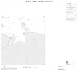 Primary view of object titled '1990 Census County Block Map (Recreated): Maverick County, Inset B05'.
