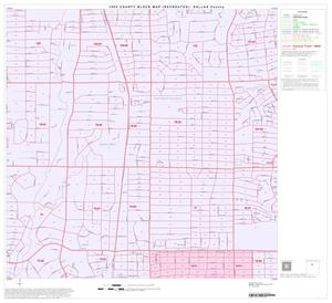 Primary view of object titled '1990 Census County Block Map (Recreated): Dallas County, Block 25'.