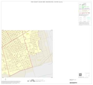Primary view of object titled '1990 Census County Block Map (Recreated): Ector County, Inset D04'.