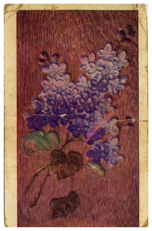 Primary view of object titled '[Wooden Flowers]'.