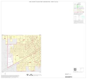 Primary view of object titled '1990 Census County Block Map (Recreated): Gray County, Inset A03'.