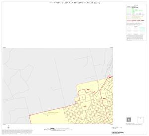 Primary view of object titled '1990 Census County Block Map (Recreated): Nolan County, Inset A01'.