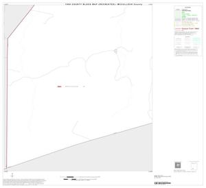 Primary view of object titled '1990 Census County Block Map (Recreated): McCulloch County, Inset B09'.