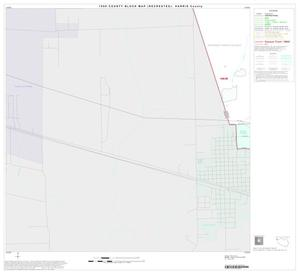 Primary view of object titled '1990 Census County Block Map (Recreated): Harris County, Block 21'.