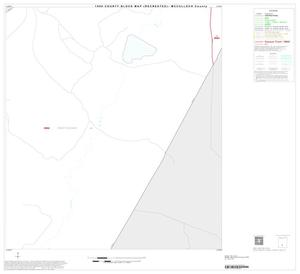 Primary view of object titled '1990 Census County Block Map (Recreated): McCulloch County, Inset B07'.