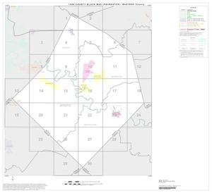 Primary view of object titled '1990 Census County Block Map (Recreated): Bastrop County, Index'.