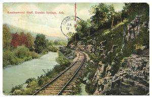Primary view of object titled 'Leatherwood Bluff, Eureka Springs, Ark.'.