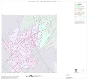 Primary view of object titled '1990 Census County Block Map (Recreated): McLennan County, Inset D02'.