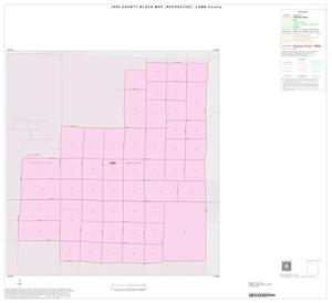 Primary view of object titled '1990 Census County Block Map (Recreated): Lamb County, Inset A01'.