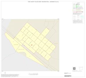 Primary view of object titled '1990 Census County Block Map (Recreated): Johnson County, Inset C01'.