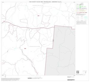 Primary view of object titled '1990 Census County Block Map (Recreated): Edwards County, Block 9'.