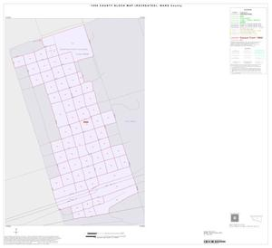 Primary view of object titled '1990 Census County Block Map (Recreated): Ward County, Inset C01'.