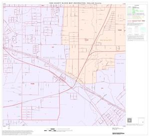 Primary view of object titled '1990 Census County Block Map (Recreated): Dallas County, Block 68'.
