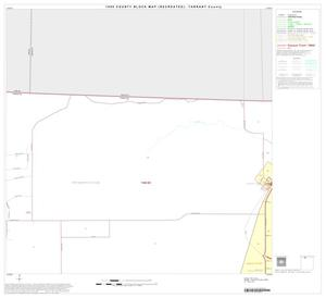 Primary view of object titled '1990 Census County Block Map (Recreated): Tarrant County, Block 4'.