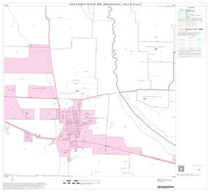 Primary view of object titled '1990 Census County Block Map (Recreated): Collin County, Block 25'.