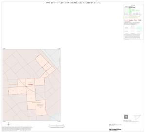 Primary view of object titled '1990 Census County Block Map (Recreated): Galveston County, Inset D01'.