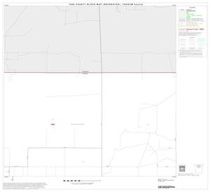Primary view of object titled '1990 Census County Block Map (Recreated): Yoakum County, Block 2'.