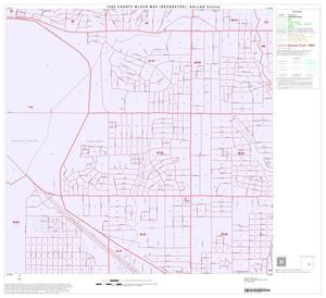 Primary view of object titled '1990 Census County Block Map (Recreated): Dallas County, Block 57'.