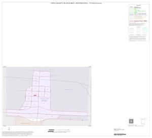 Primary view of object titled '1990 Census County Block Map (Recreated): Titus County, Inset B01'.