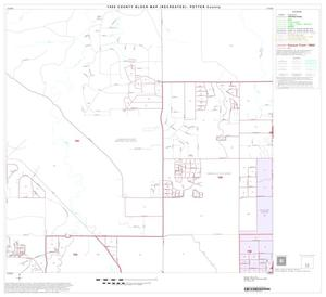 Primary view of object titled '1990 Census County Block Map (Recreated): Potter County, Block 18'.