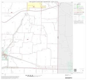 Primary view of object titled '1990 Census County Block Map (Recreated): Hunt County, Block 12'.