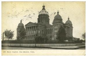 Primary view of object titled 'State Capitol, Des Moines, Iowa.'.