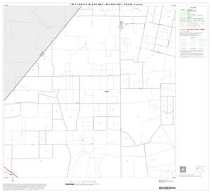 Primary view of object titled '1990 Census County Block Map (Recreated): Pecos County, Block 6'.