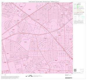 Primary view of object titled '1990 Census County Block Map (Recreated): Harris County, Block 169'.