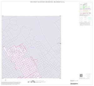 Primary view of object titled '1990 Census County Block Map (Recreated): McLennan County, Inset D01'.