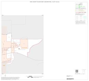 Primary view of object titled '1990 Census County Block Map (Recreated): Clay County, Inset B02'.